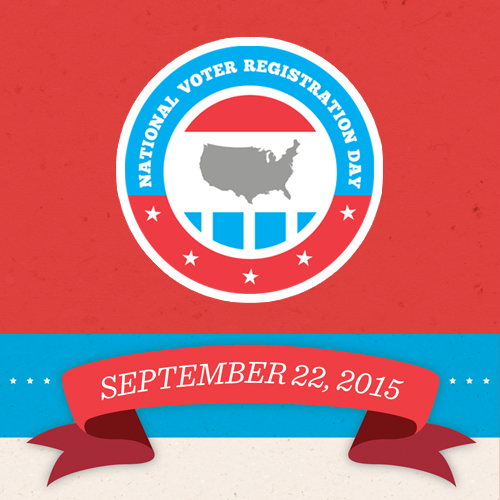 National Voter Registration Day 2015